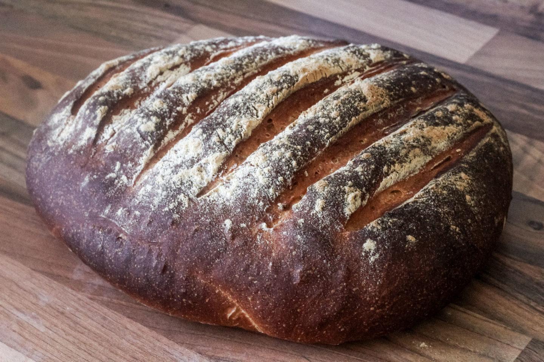 example of burned cob loaf