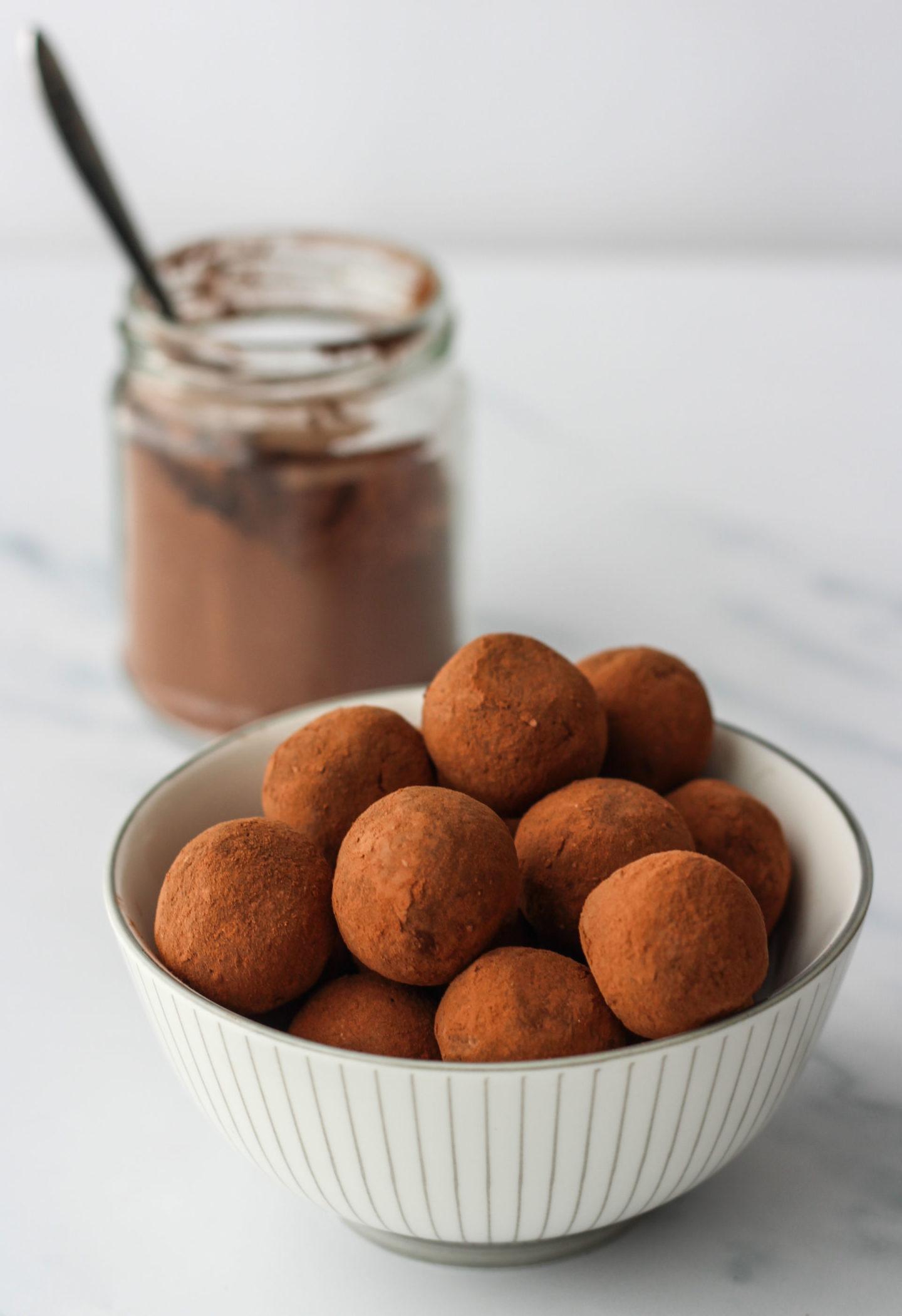 bowl of whole truffles