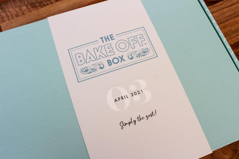 close up of outside of the bake off box: lemony lemon slices box