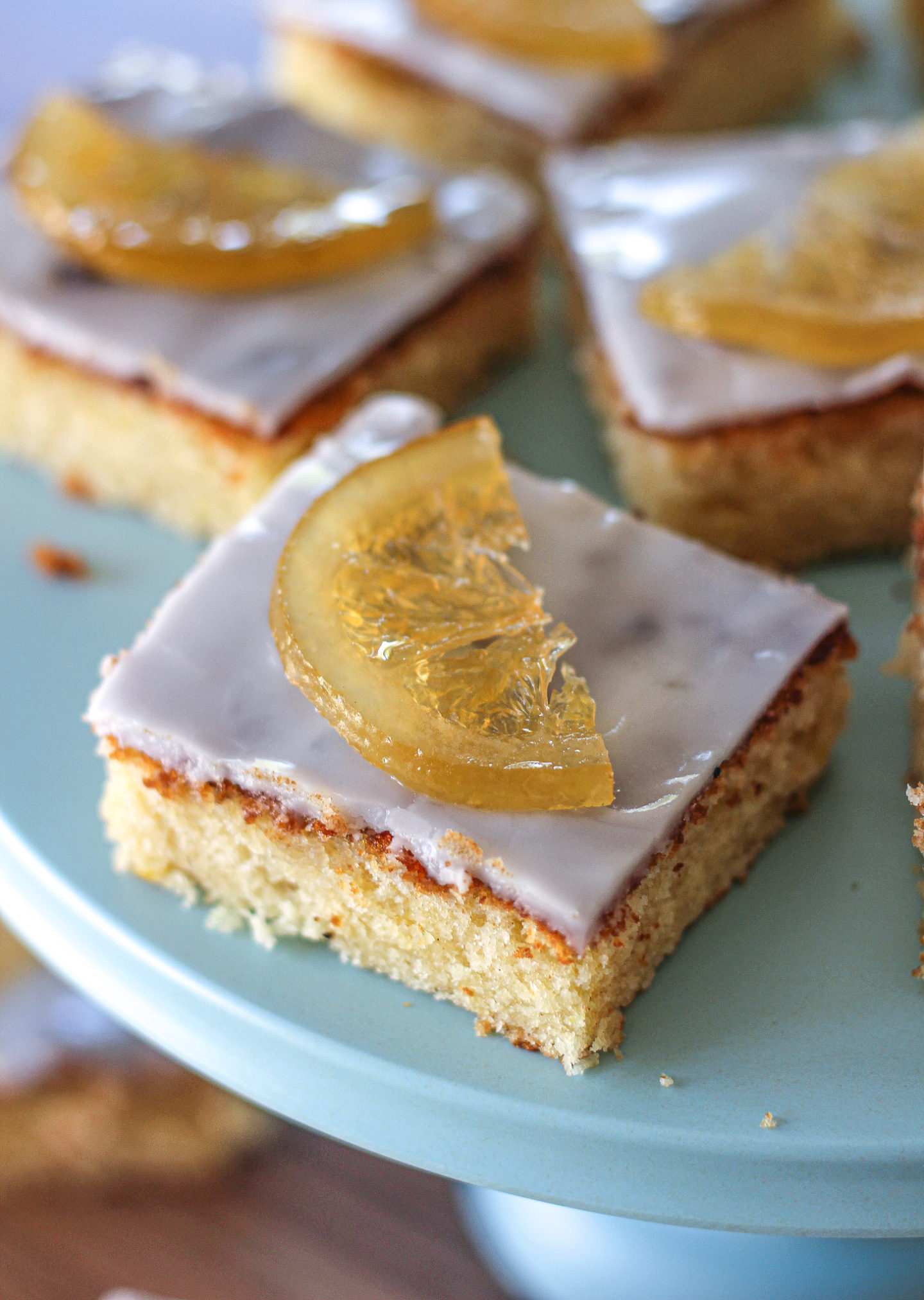 The Bake Off Box: Lemony Lemon Slices